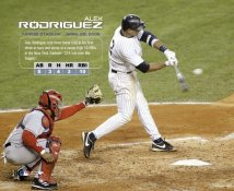 Alex Rodriguez 3 home runs New York Yankees 8X10