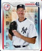 Randy Johnson LIMITED STOCK 2005 Studio New York Yankees 8X10 Photo
