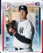 Carl Pavano Studio LIMITED STOCK New York Yankees 8X10 Photo