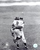 Yogi Berra & Don Larsen Perfect Game 8X10 Photo