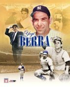 Yogi Berra Legends New York Yankees 8X10
