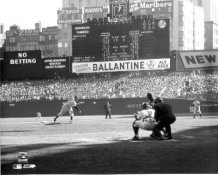 Don Larsen Perfect Game 1st Pitch New York Yankees 8X10 Photo