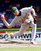 Chad Bradford Oakland Athletics 8X10