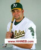 Nick Swisher Oakland Athletics 8X10 Photo LIMITED STOCK (No www.HHWEB.com on actual photo)
