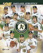 Oakland Athletics 2005 Team Composite 8X10