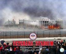 Veterans Stadium Implosion Philadelphia Phillies 8X10