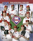 Philadelphia Phillies 2005 Team Composite 8X10