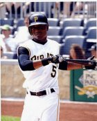 Tyke Redman Pittsburgh Pirates 8X10