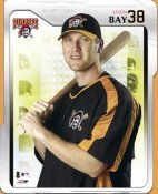 Jason Bay LIMITED STOCK Studio Pittsburgh Pirates 8X10 Photo