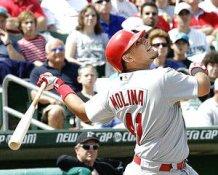 Yadier Molina St. Louis Cardinals 8X10 Photo LIMITED STOCK