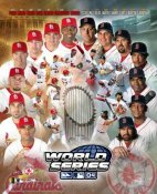 World Series Match-up St. Louis Cardinals/Boston Red Sox 8X10