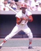 Curt Flood LIMITED STOCK St. Louis Cardinals 8X10