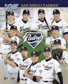 San Diego Padres 2005 Team Composite 8X10