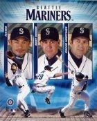 Seattle Mariners 2004 Big Three 8X10