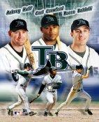 Tampa Bay Devil Rays Big Three 8X10