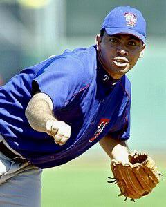 Joaquin Benoit Texas Rangers 8X10