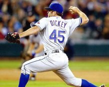 R.A. Dickey Texas Rangers 8X10 Photo