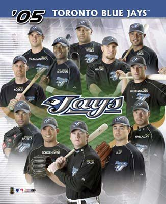 Toronto Blue Jays 2005 Team Composite 8X10