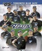 Toronto Blue Jays 2005 Team Composite 8X10