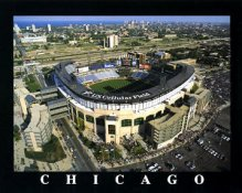 A1 U.S. Cellular Field Aerial Chicago White Sox 8X10