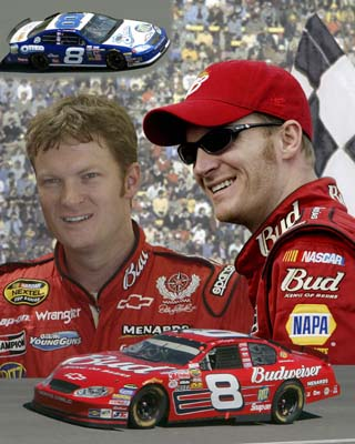 Dale Earnhardt Jr. LIMITED STOCK 2005 Composite 8X10 Photo