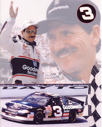 Dale Earnhardt Composite 8X10 Photo