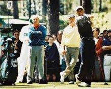 Arnold Palmer Jack Nicklaus Tiger Woods 8X10 Photo