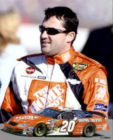Tony Stewart 2004 Composite 8X10 Photo
