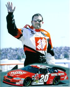Tony Stewart 2003 Composite 8X10 Photo