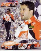 Tony Stewart Winston Cup 2002 Champ LIMITED STOCK 8X10 Photo