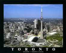 A1 The Sky Dome Aerial Toronto Blue Jays  8X10