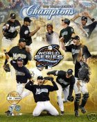 Marlins 2003 Marlins WS Numbered & Limited Composite 8X10 Photo