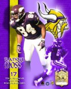 Randy Moss Rookie 17 TD Limited Edition 8X10