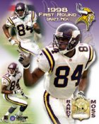 Randy Moss Rookie Limited Edition 8X10 Photo