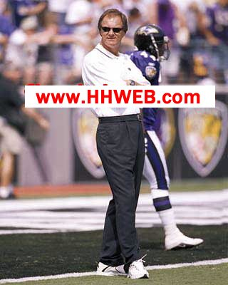 Brian Billick Coach Baltimore Ravens 8X10 Photo