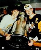 Mario Lemieux Jaromir Jagr Penguins 1991 Cup LIMITED EDITION 8X10 Photo