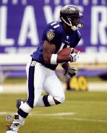 Devard Darling Baltimore Ravens 8X10