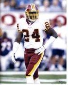 Shawn Springs Washington Redskins 8x10
