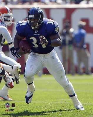 Jamal Lewis LIMITED STOCK Baltimore Ravens 8X10 Photo