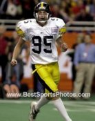 Nate Kaeding Iowa Hawkeyes 8X10 Photo