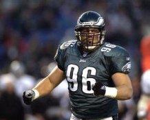 Paul Grasmanis Philadelphia Eagles 8X10