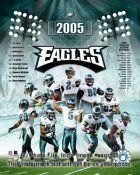 Eagles 2005 Philadelphia Team Composite 8X10
