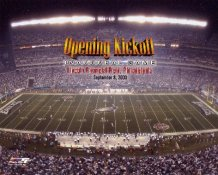 Lincoln Financial Field Opening Kickoff Philadelphia Eagles 8X10