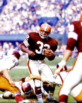 Jim Brown Cleveland Browns 8X10