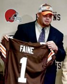 Jeff Faine Draft Day Cleveland Browns 8X10