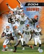 2004 Team Photo Cleveland Browns 8X10