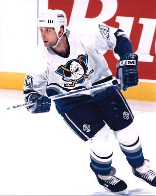 Bob Corkum Anaheim Mighty Ducks 8x10
