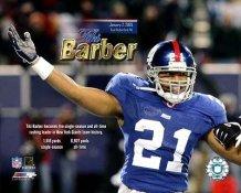 Tiki Barber Rushing Record NY Giants 8X10 Photo