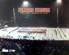 N2 Foxboro Last Game New England Patriots 8X10
