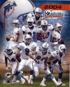 Miami Dolphins 2004 Team Composite  8X10